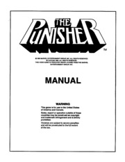 Arcade Game Manual: The Punisher : Free Download, Borrow