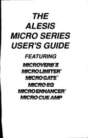 Alesis Micro series Owner's Manual : Free Download, Borrow