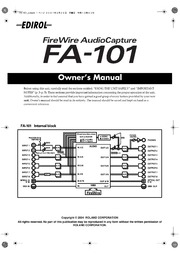 EDIROL FA101 MANUAL PDF