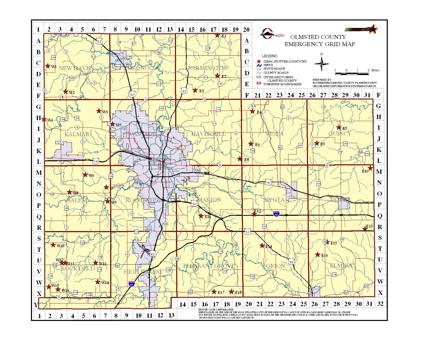 Emergency Management Grid Maps