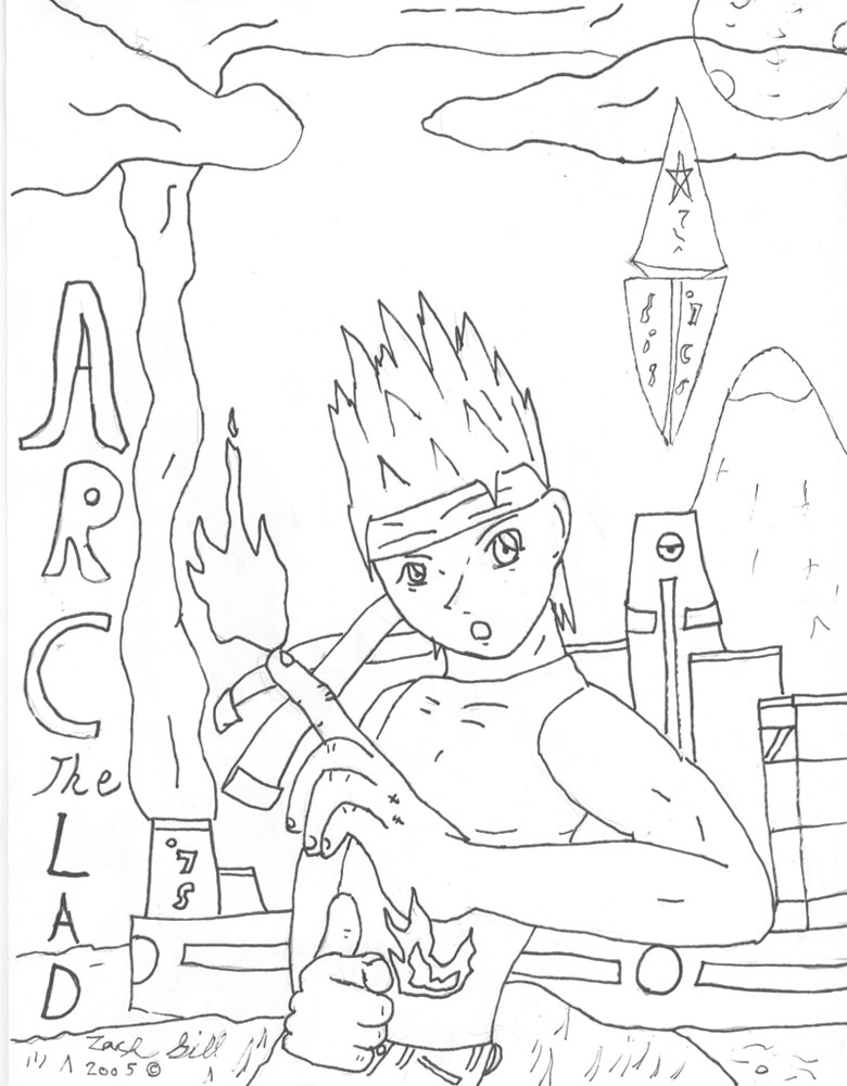 Arc The Lad Art Page