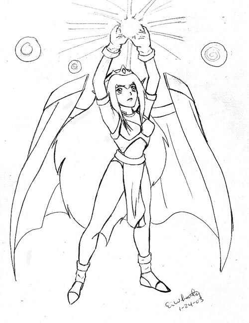 Dragon Force Art Page