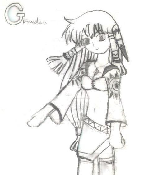 Grandia Art Page