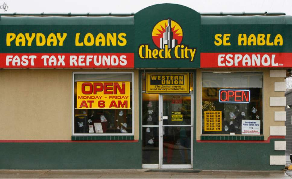 Utah Payday Lenders Average Interest Rate Roughly Double