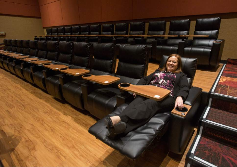 Reclining Chairs Movie Theater
