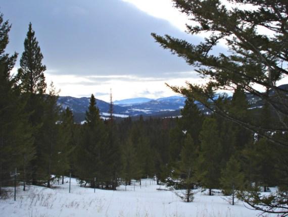 View of Bridger Canyon