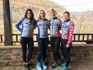WSSF women's snowshoe racers