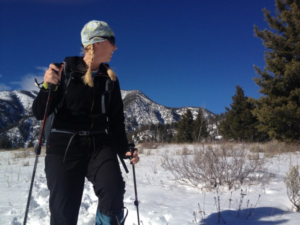 Looking for animal tracks adds another layer to a snowshoe outing.