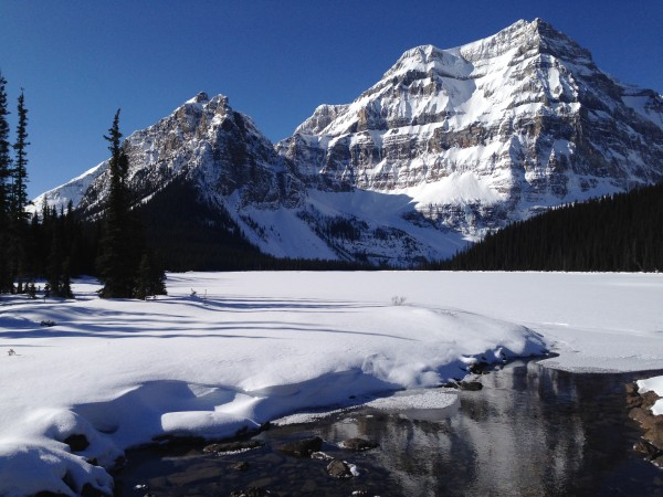 Parting shot of Backcountry Paradise in Banff National Park