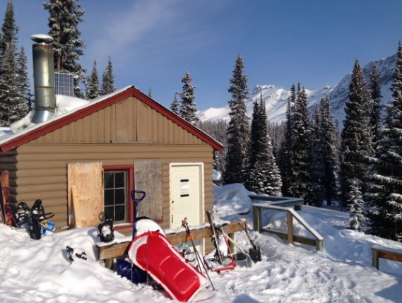 The Hilda Creek Wilderness Hostel, Banff National Park