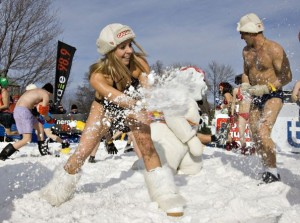 Quebec City makes snow fun for racing or playing