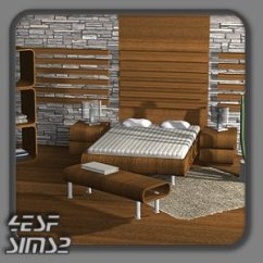 Wall Mirror Living Room Carpets For Sale 4esf - Modern Furniture Sims2