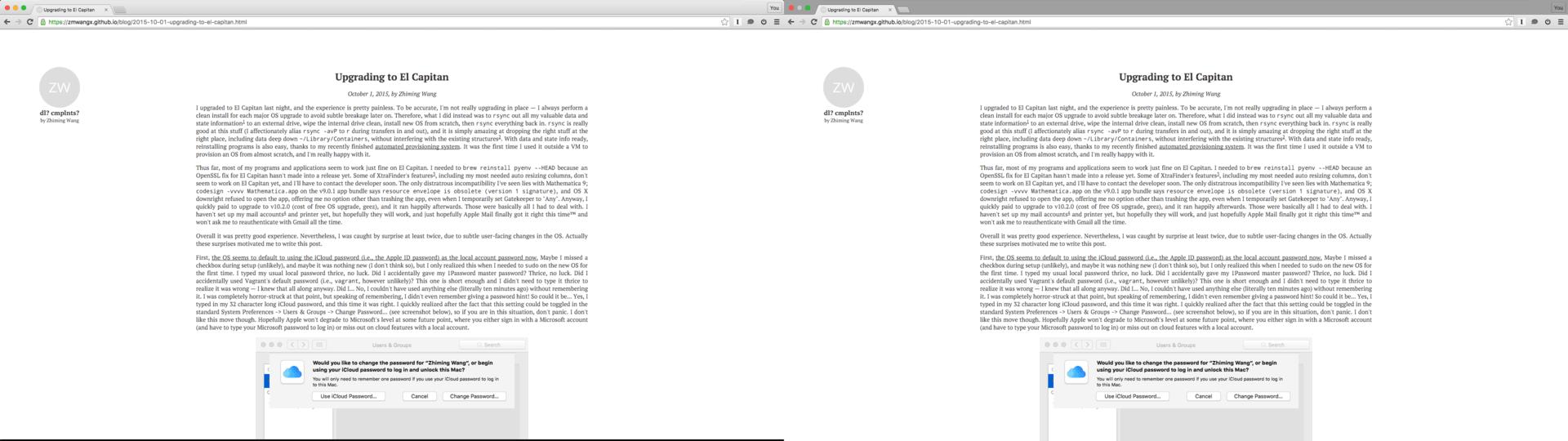 Auto hidden menu bar & dock + maximized window is the new full screen mode