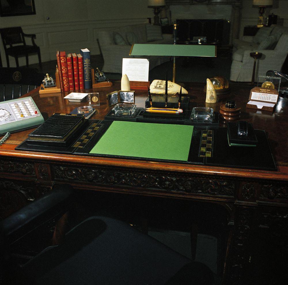 White Office Desk