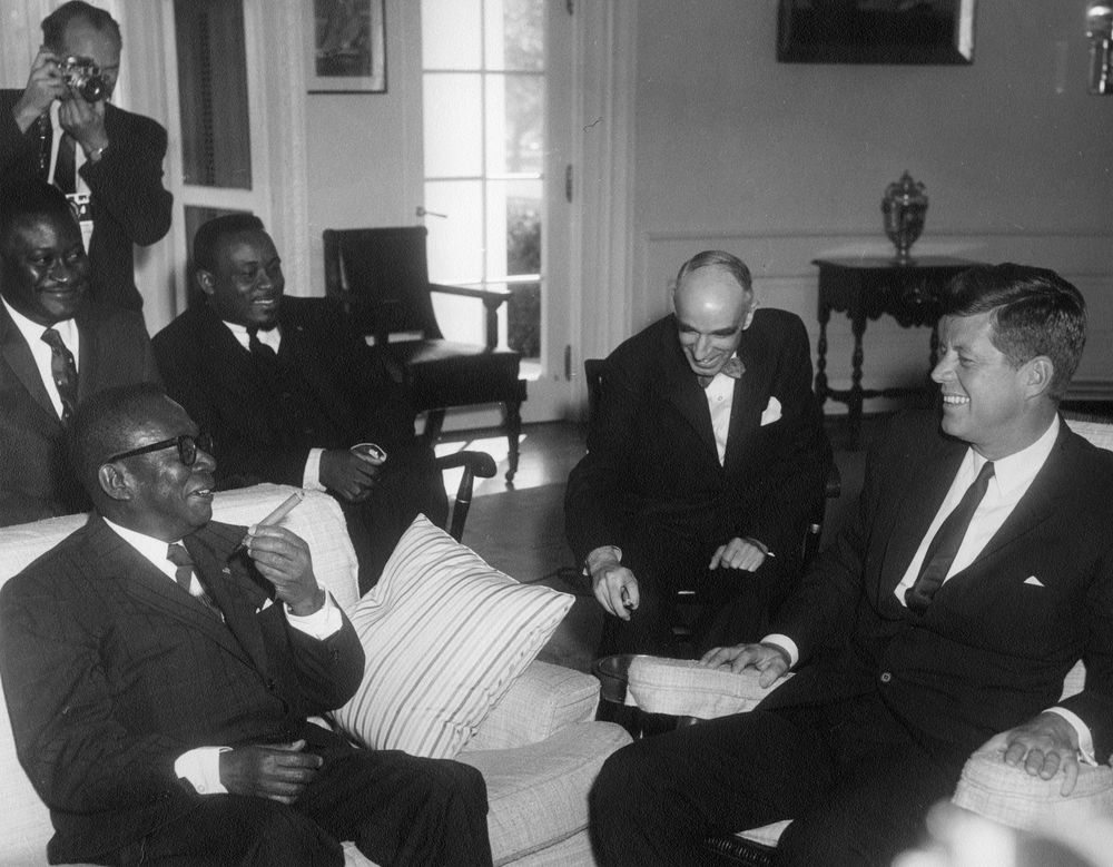 AR6848C Meeting with William VS Tubman President of