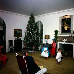 Jfk Rocking Chair Chairs For The Living Room St-c72-31-62. President John F. Kennedy Watches Family Christmas Play - ...