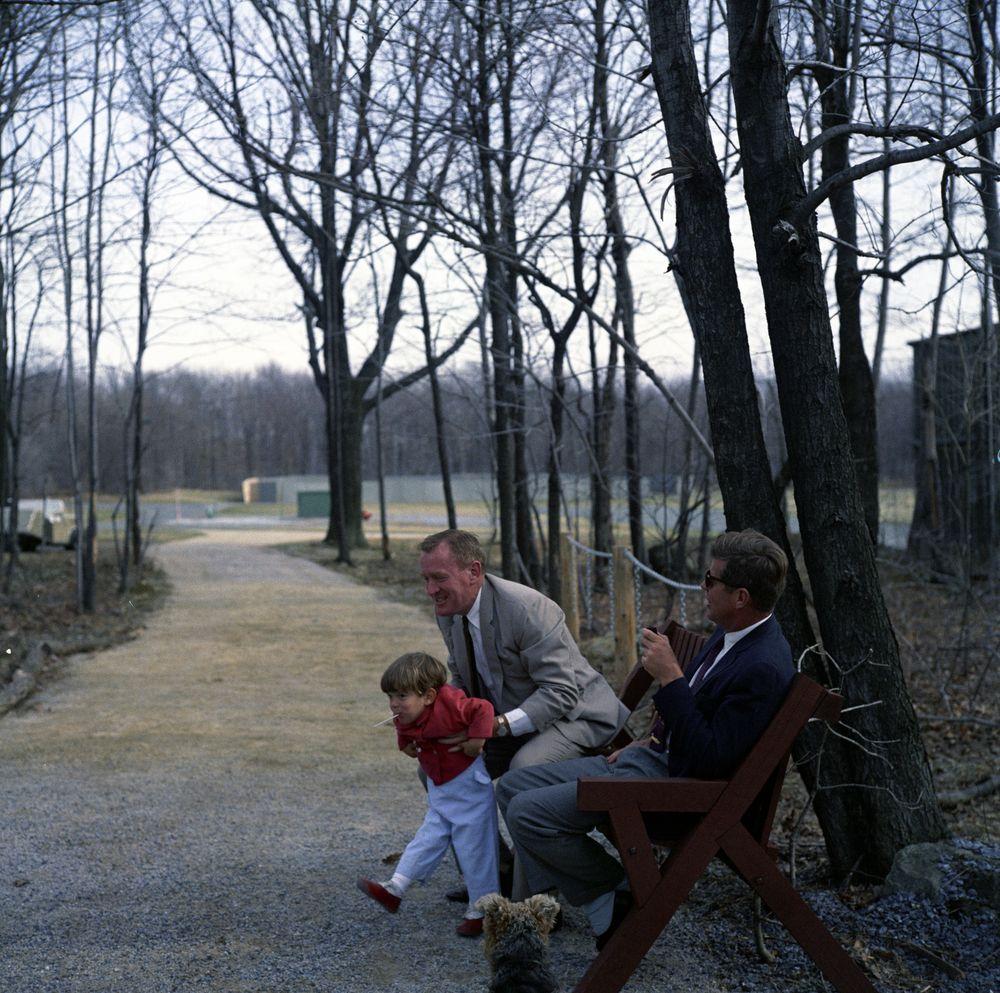Weekend at Camp David  John F Kennedy Presidential