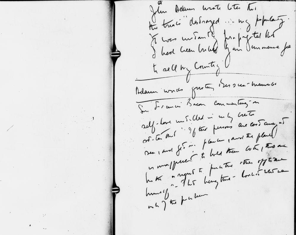 KN-29657. Senator John F. Kennedy's Handwritten Notes for