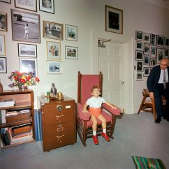 The Rocking Chair Store Desk Home St-c334-2-63. John F. Kennedy, Jr. In White House - Kennedy Presidential Library & Museum