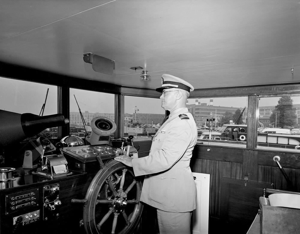 Yacht Honey Fitz Berthed At Washington Navy Yard Interior