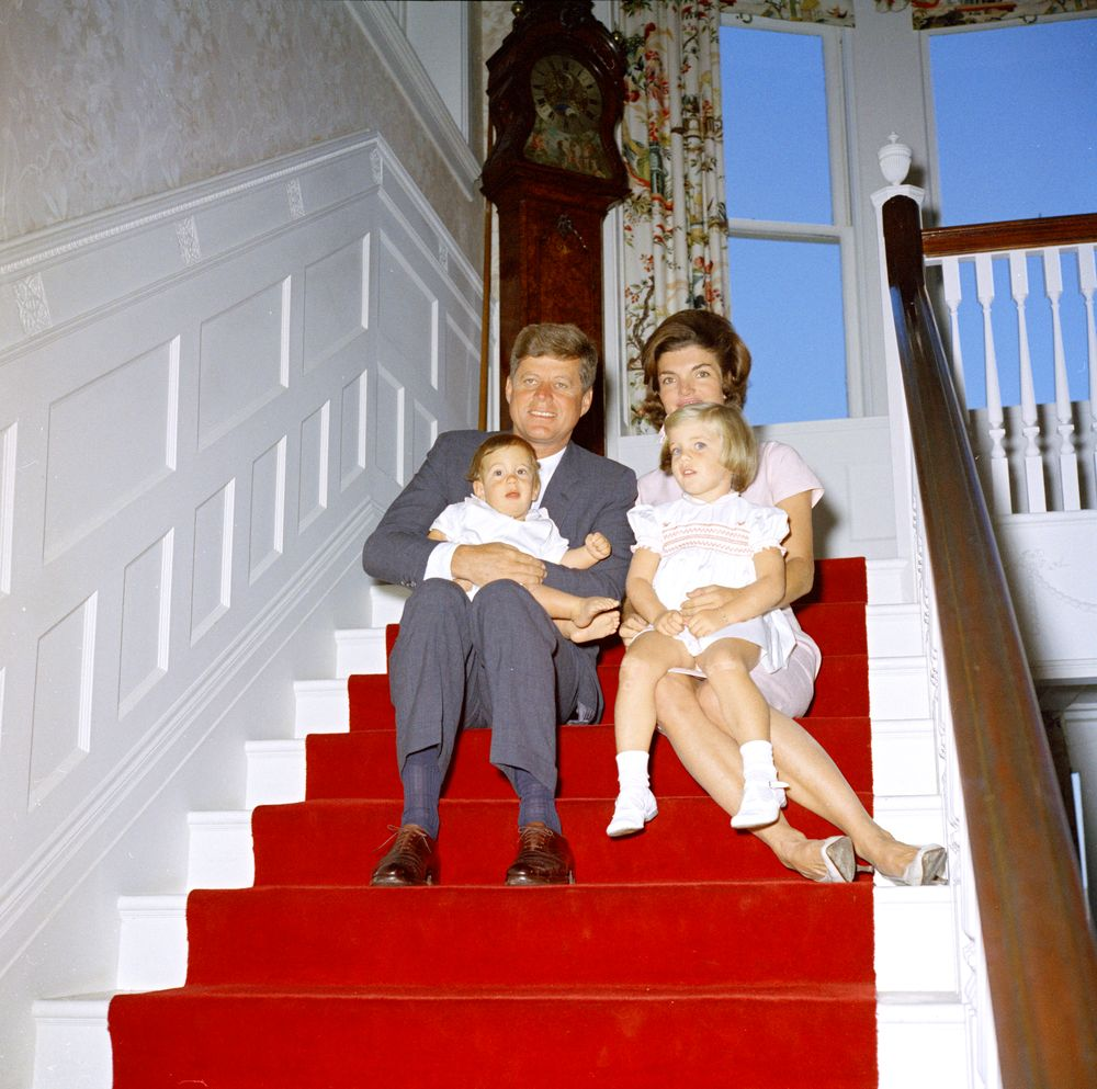 Jackie Kennedy White House Portrait