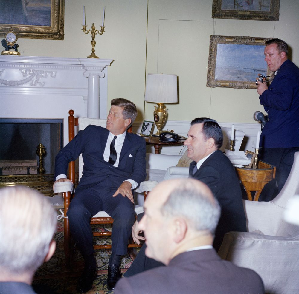 kennedy rocking chair local rentals kn-c19032. president john f. meets with andrei gromyko, minister of foreign affairs ...