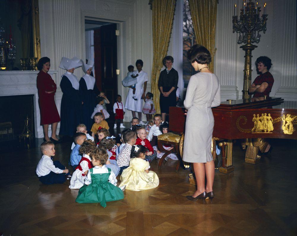 Christmas Party For Children John F Kennedy