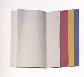 Ocean Stripe Series 3 by Ian Hamilton Finlay