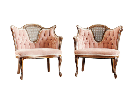 french velvet chair antique desk wheels lulu chairs blush lounge archiverentals wishlist loading