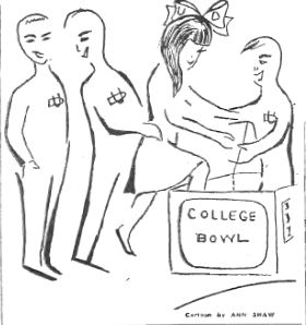 Before there was Jeopardy! General Electric College Bowl