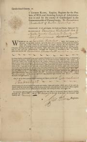 Cornelius Vanderbilt Family Papers Dickinson College