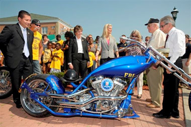 FBI  Orange County Choppers Partners with the FBI and the