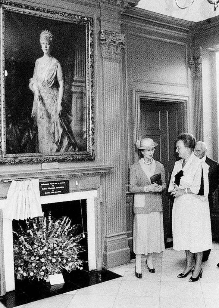 Princess Alexandra re-opens Roehampton House 15 June 1987