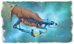 Les cyphers à injections servent souvent à soigner ou augmenter ses capacités de façon temporaire.