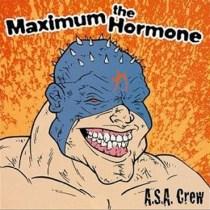 """Le premier album de Maximum the Hormone: """"A.S.A. Crew""""."""