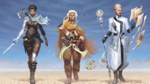 Un peu plus traditionnel, ceux-ci sont de bons exemple des trois types de personnages.
