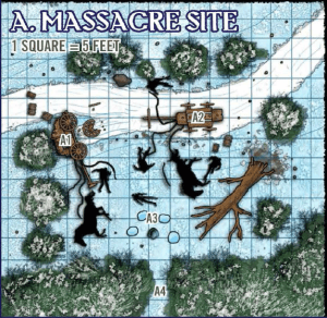 Path RoW Massacre site
