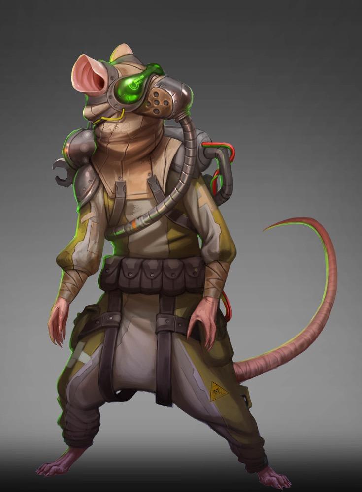 SF - Space Ratfolk
