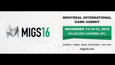 MIGS - Sommet international du jeu de Montréal