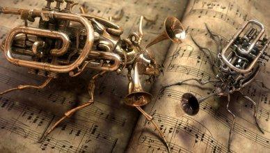 Steampunk et la musique!