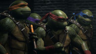 Les tortues ninja dans Injustice 2!