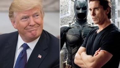 Donald Trump et Christian Bale