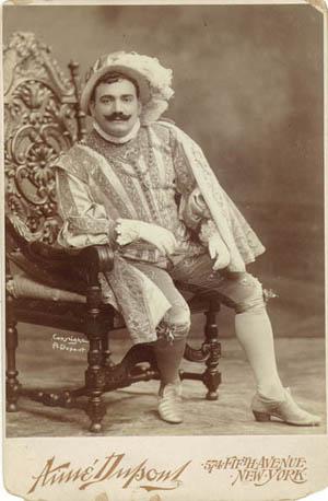 Enrico Caruso in Rigoletto, 1903
