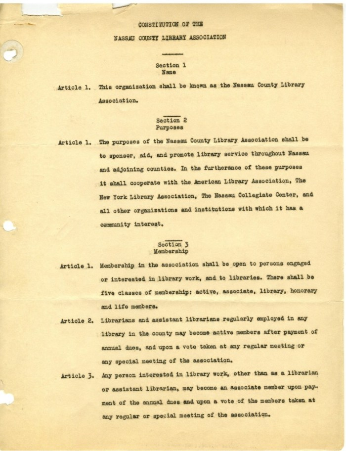 Constitution of the NCLA