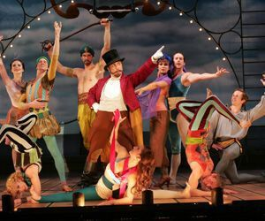 Life is a 'Carnival!' at the Goodspeed Opera House through Sept 18. Diane Sobolewski