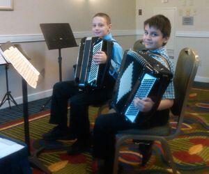 YouTube shows boy joy of accordion play – Republican