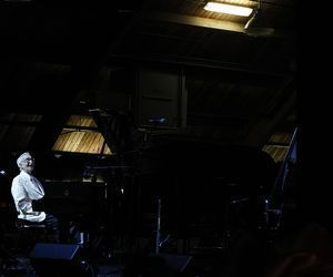 Kent, CT- 06, August 2010-080610CM06 Dave Brubeck plays the piano during the of the 15th annual Litchfield Jazz Festival in 2010. Republican-American archive