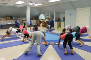 Acting out stories with yoga helps kids – Republican