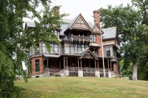 Benedict Miller Mansion is at 32 Hillside Avenue in the 5th Aldermanic District in Waterbury. Erin Covey Republican-American