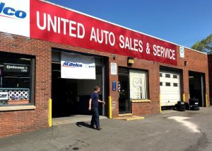 United Auto Sales & Service in Waterbury.
